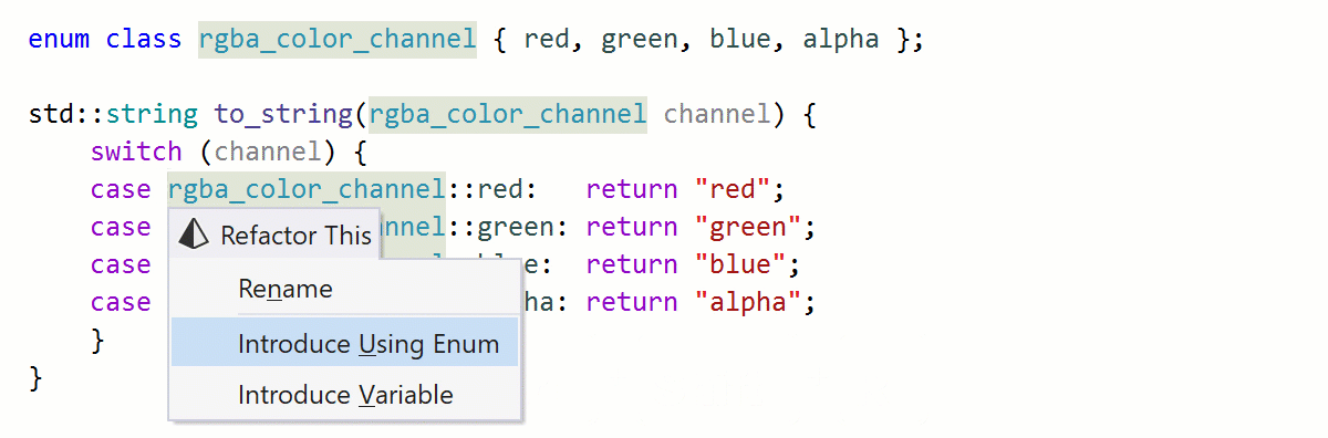 Refactor your code with ReSharper C++